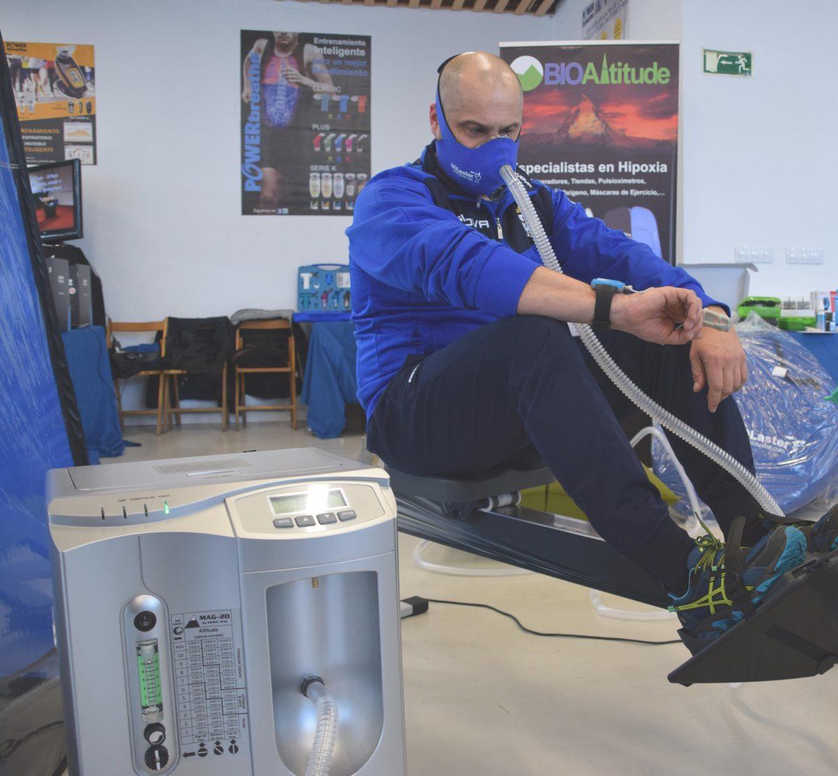 Entrenamiento en Altitud Simulada – Experiencias de los Deportistas asistentes a la Feria del Remo de Orio en el stand de Biolaster y Bioaltitude
