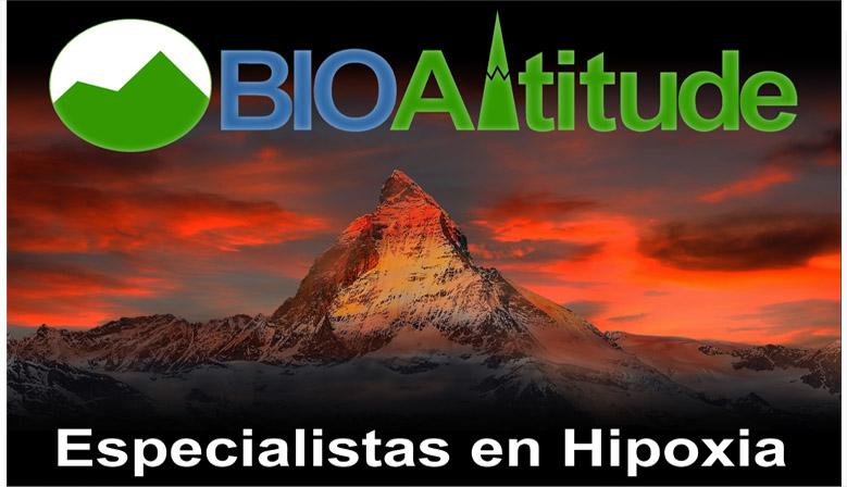 Biolaster y Bioaltitude especialistas en Hipoxia y en el Entrenamiento en Altitud Simulada