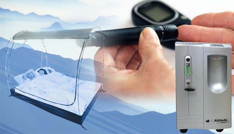 Imagen para la noticia sobre los efectos de la hipoxia en pacientes con diabetes tipo 2