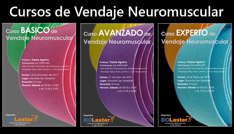 Portada Cursos de Vendaje Neuromuscular