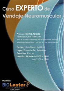 Curso Experto de Vendaje Neuromuscular