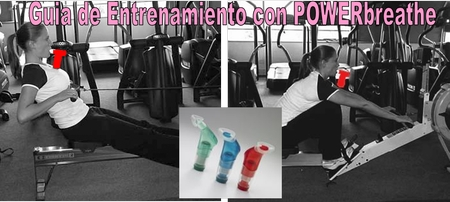 Guia de Entrenamiento de la Musculatura Respiratoria mediante el POWERbreathe, para Remo Indoor