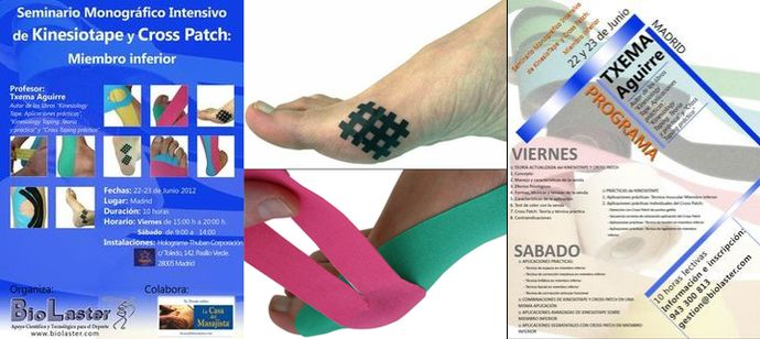 Seminario Intensivo De Kinesiotape Y Cross Patch En Madrid