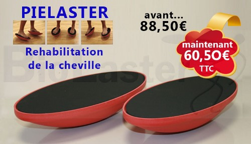 Offre chez Biolaster: Appareil pour la Rehabilitation de la Cheville, Pielaster