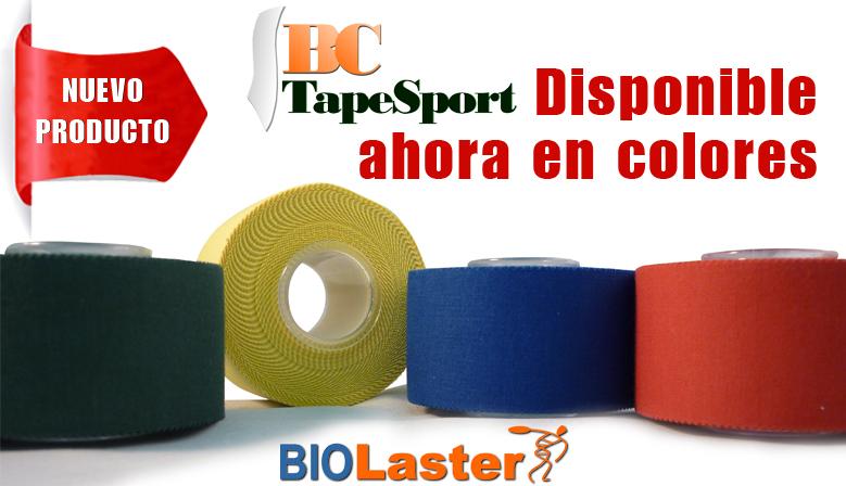 Sport tape de colores a la venta en Biolaster