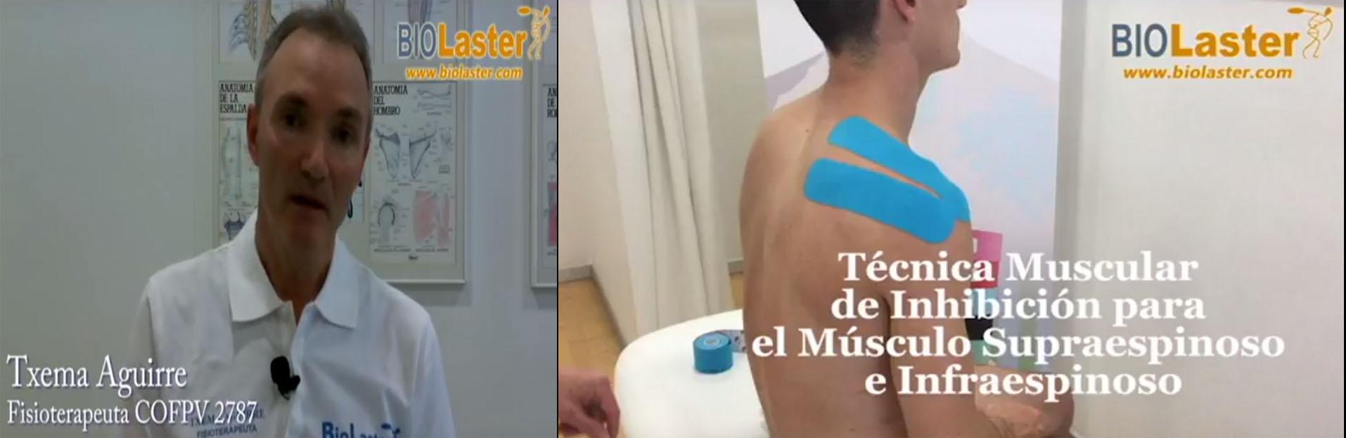 Nueva entrega de los tutoriales, en vídeo, sobre Vendaje Neuromuscular de Txema Aguirre