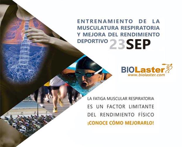 """Primer Curso Teórico-Práctico en Euskadi sobre """"Entrenamiento de la Musculatura Respiratoria y Mejora del Rendimiento"""