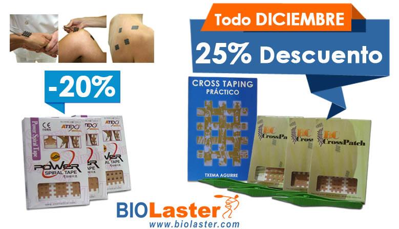 En Diciembre los Productos para el Cross Taping en Oferta