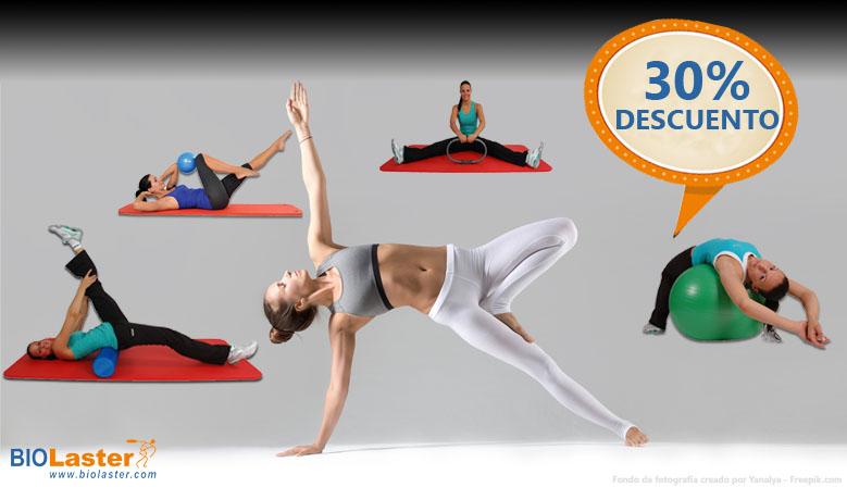 Consigue los Productos para el Entrenamiento de Fitness y Pilates al 30% de descuento