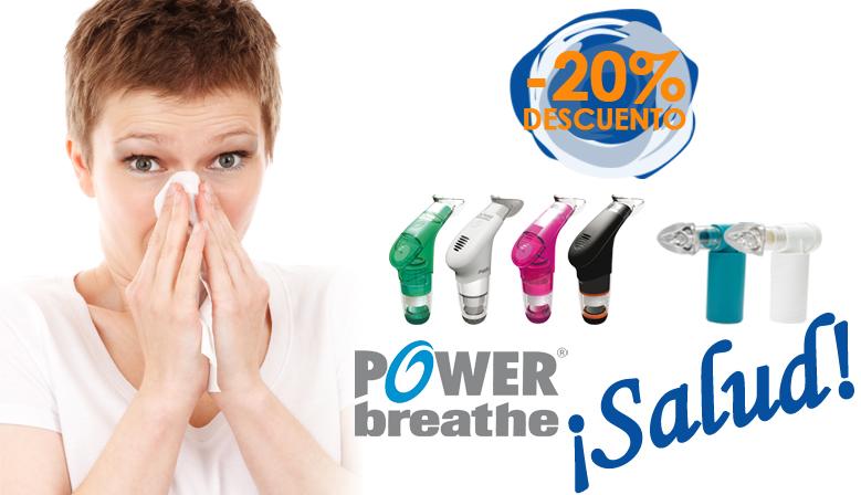 Los POWERbreathe Salud al 20% de descuento