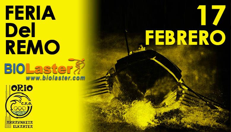 Biolaster estará presente en la Feria del Remo del XXIV descenso del Oria de traineras
