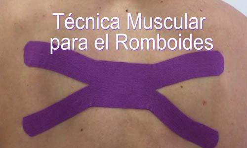 Vídeo: Aplicación de Vendaje Neuromuscular para el Músculo Romboides