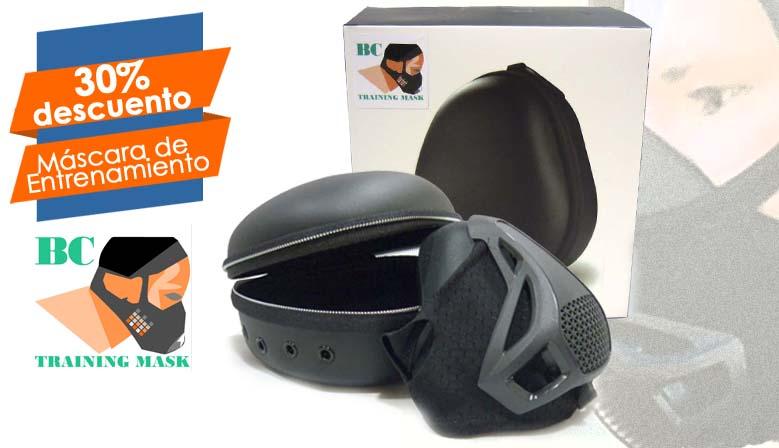 Las Nuevas BC Training Mask al 30% de descuento