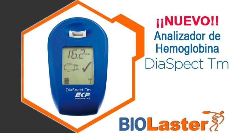 ¡El Medidor de Hemoglobina DiaSpect TM,  nuevo producto en Biolaster!