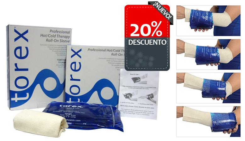 Oferta del 20% de descuento en el Gel Tubular Torex