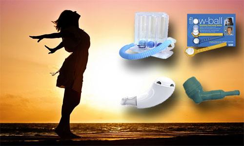 ¿Cuáles son los tipos de incentivadores respiratorios que podemos encontrar en el mercado?