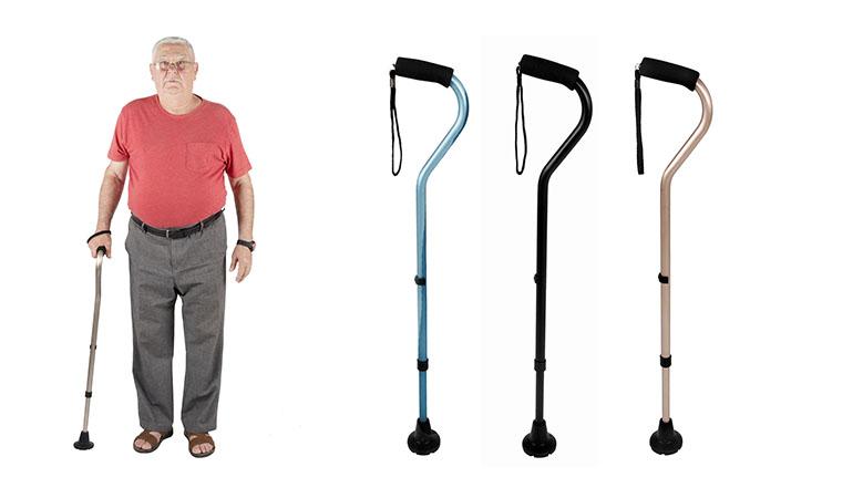Bastón KMINA Comfort: Ligereza y estabilidad  adaptada a la anatomía