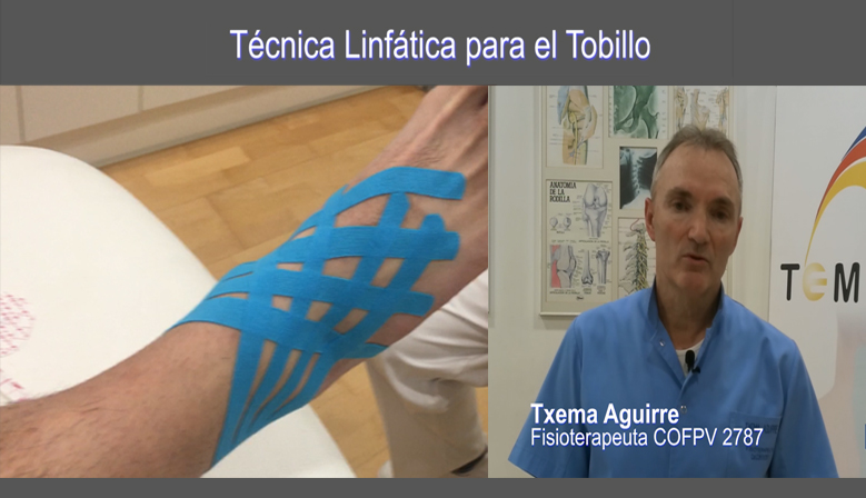 Vídeo: Técnica de Vendaje Neuromuscular para el Tobillo
