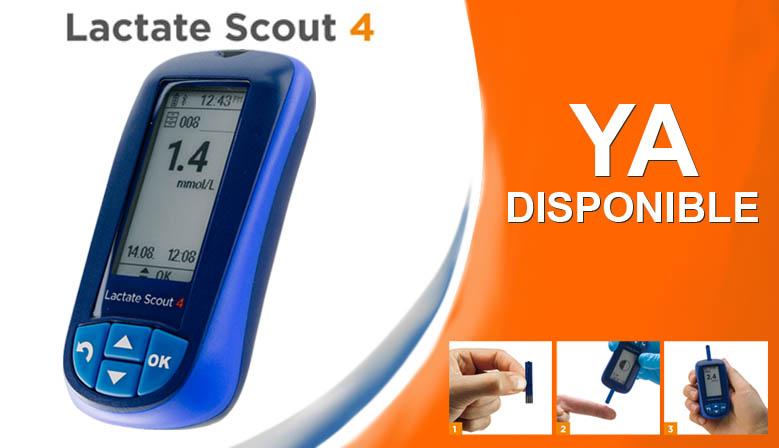 Lactate Scout 4, ¡ya disponible!