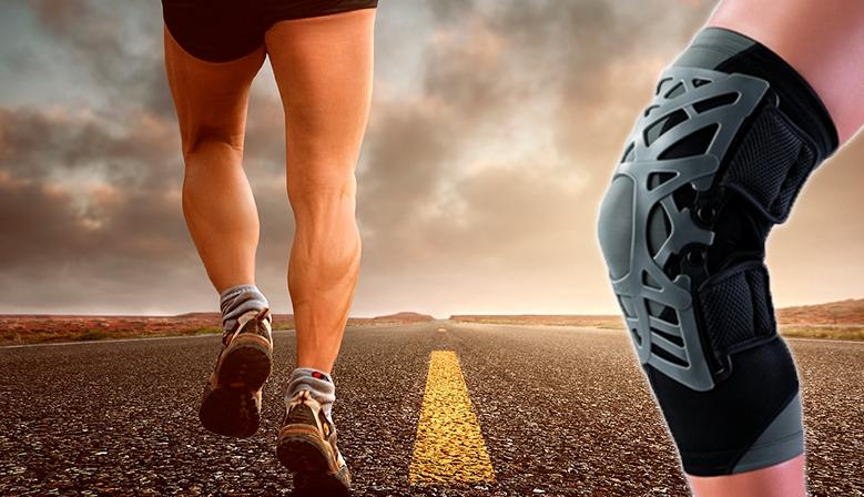Rodillera Reaction Knee Brace: descarga la rótula y los tejidos blandos de la parte anterior de la rodilla