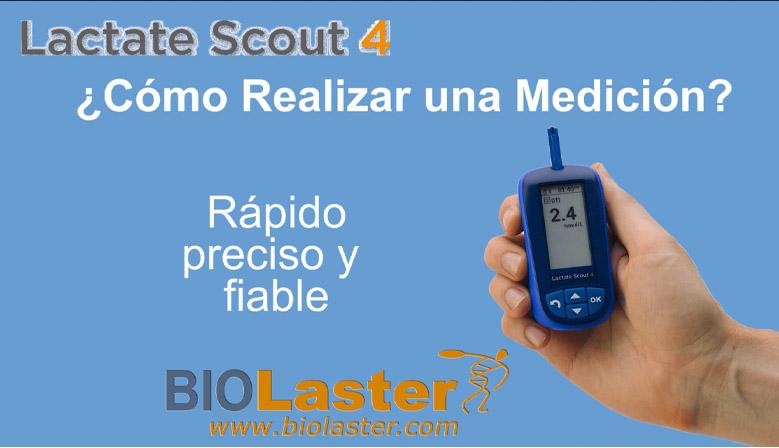 El Lactate Scout 4, analizador de lactato, rápido y sencillo de utilizar