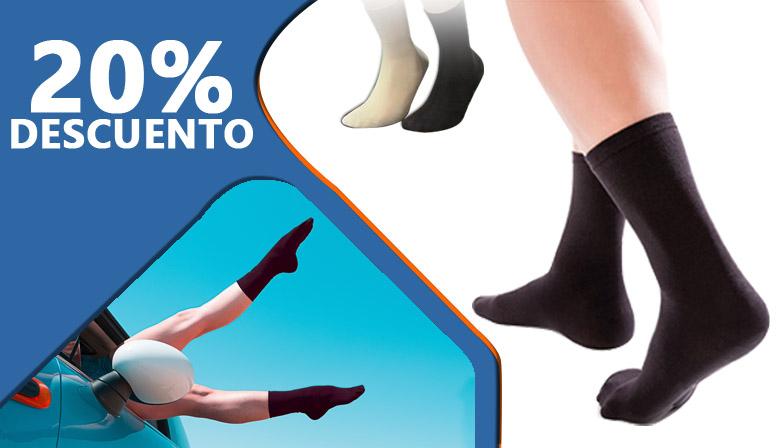 Pies secos y protegidos con los calcetines para pies sensibles y personas con diabetes en oferta durante los próximos días