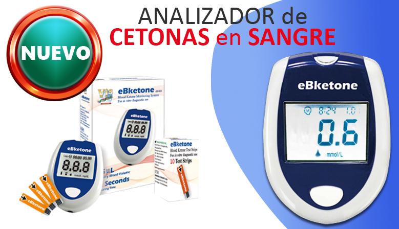 Medición de las cetonas en sangre con el eBketone K01