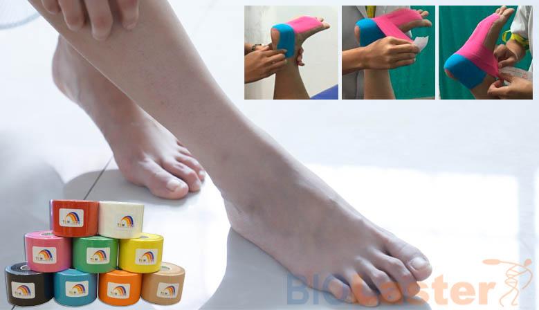 Tratamiento de los pies planos con Kinesiotaping