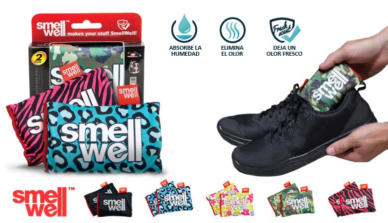 Smellwell - Elimina la Humedad y el Mal Olor de tu Equipamiento Deportivo