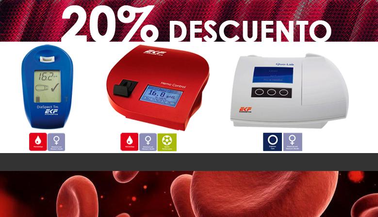 Análisis de hemoglobina de manera rápida, fiable y en tan sólo unos segundos
