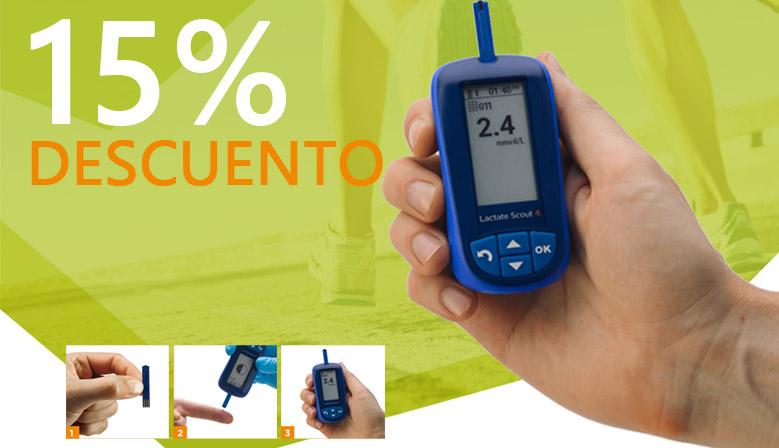 ¿Necesitas un analizador de lactato? Las diferentes presentaciones del Lactate Scout 4 en oferta
