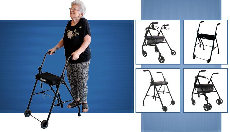 Andador KMINA Comfort: ligereza y estabilidad