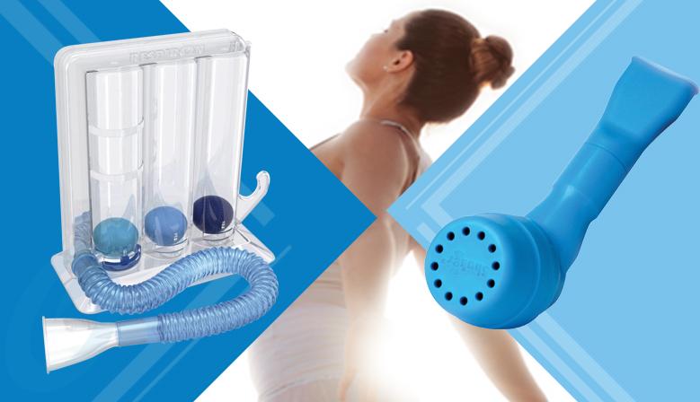 Shaker y Respiron: Características de los incentivadores respiratorios