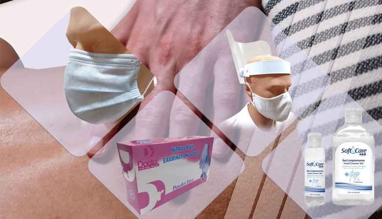 Productos de higiene y protección para la consulta