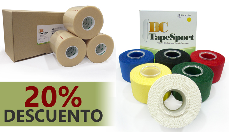¡Tapes y Pretape de gran calidad a un precio irresistible!