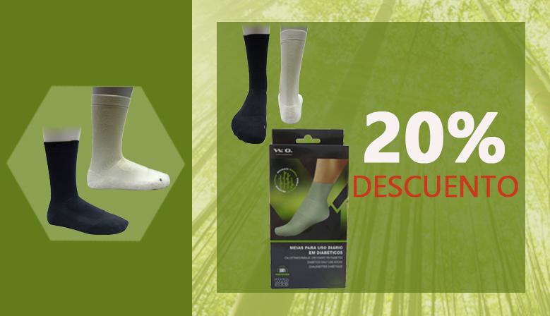 Calcetines de Bambú para Pies Sensibles al 20% de descuento