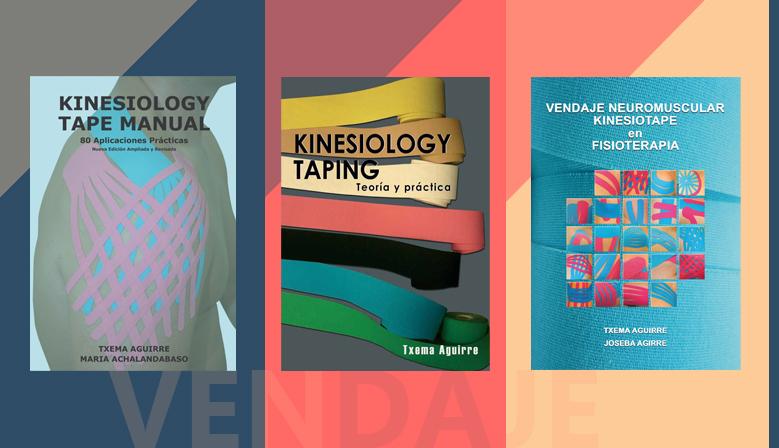 Biblioteca del Vendaje. Los diferentes libros sobre Vendaje Neuromuscular y Cross Taping al 20% de descuento