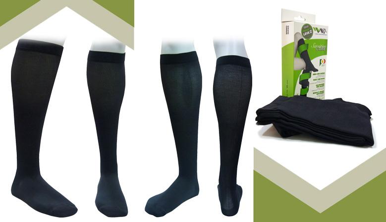 Calcetín Ejecutivo de Descanso que alivia las piernas cansadas y estimula la circulación sanguínea