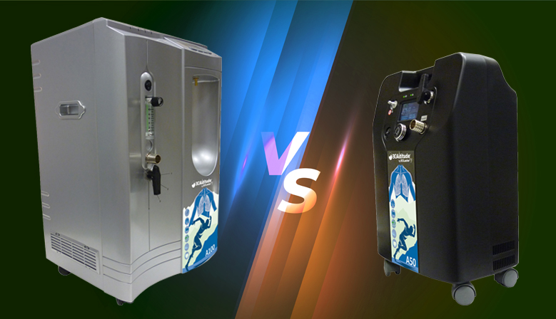 Generadores de Hipoxia: BioAltitude® A100 vs A50